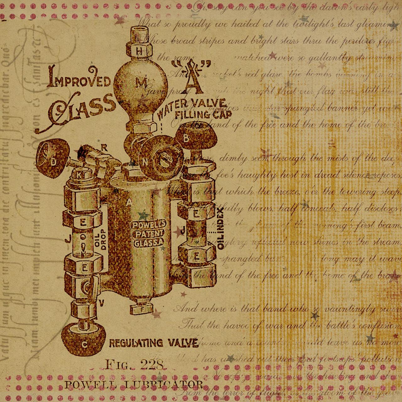 Patent eines Ventils für Chemiker als Patentanwalt